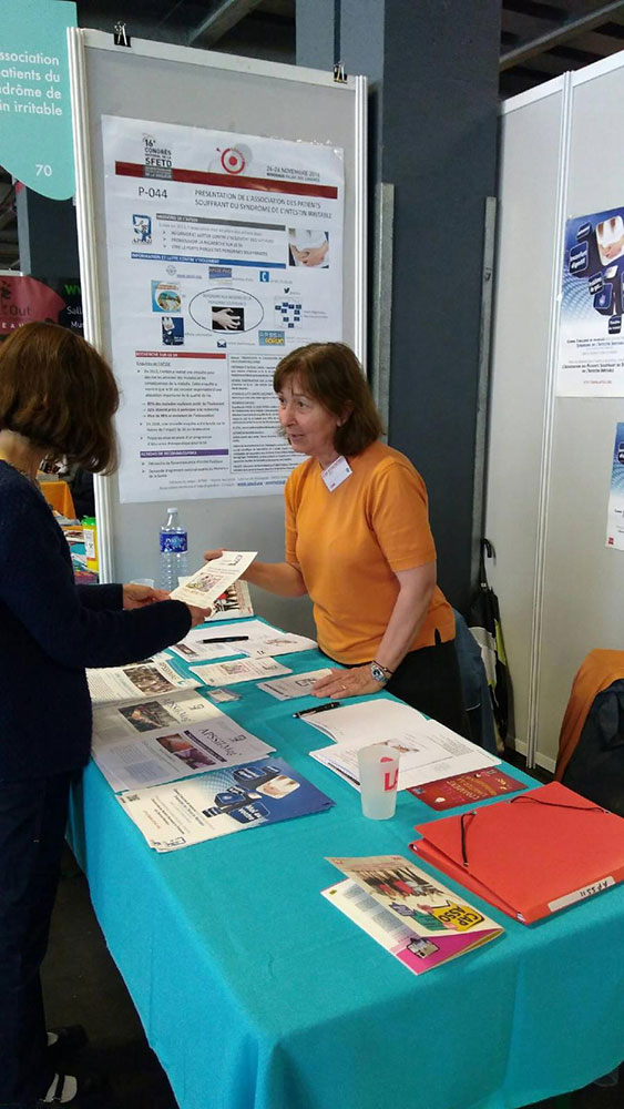 Stand APSSII au forum des associations 2017 (Bordeaux)